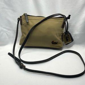 Dooney & Bourke Nylon Military Green Crossbody Bag